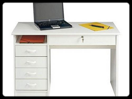 Bureau simple pas cher acheter meuble critoire design pin for Petit bureau simple