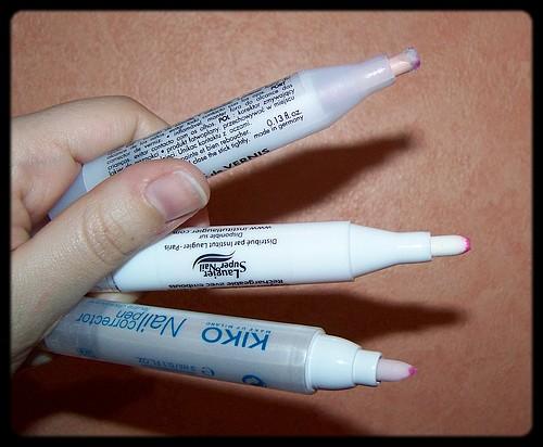 Zoom sur les stylos correcteurs de vernis