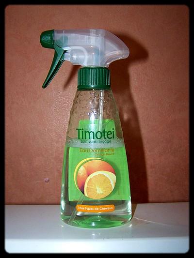 L'eau démêlante Timotei… Fuyez !