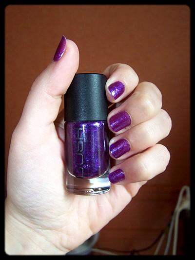 Le plus joli violet à paillettes du monde ! – Gosh