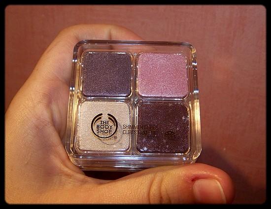 Les 4 nouveaux Cubes Lumière – The Body Shop