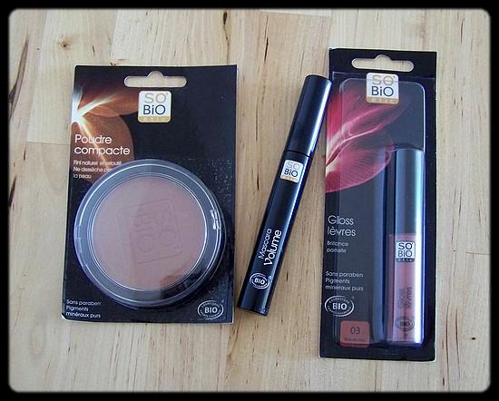 Le maquillage biologique de So'Bio Etic