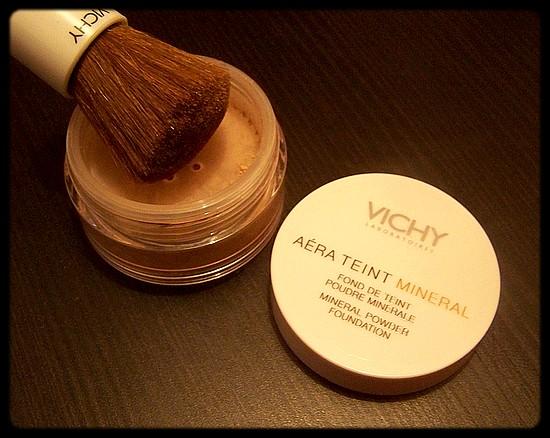 Le fond de teint minéral purifiant, par Vichy