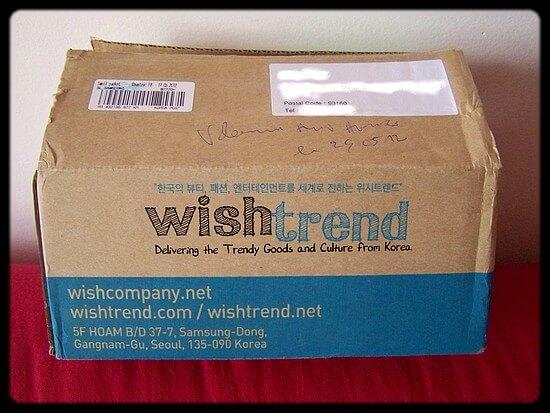 La Wishbox et ses produits coréens ♥