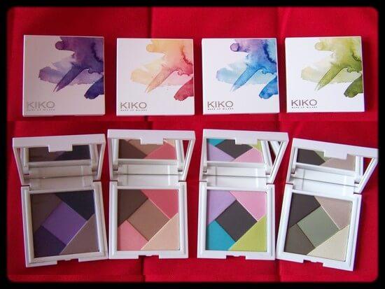 Concours Kiko : 4 palettes à gagner !