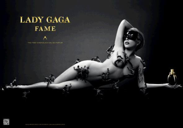 Lady Gaga sort un parfum… noir !
