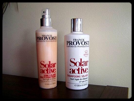 J'ai emmené la gamme Solar Active de Franck Provost en vacances !