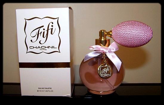 La jolie eau de toilette Fifi Chachnil