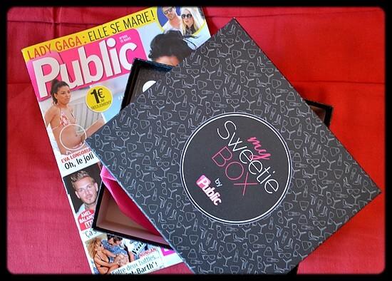 MySweetieBox, la nouvelle box proposée par Public !