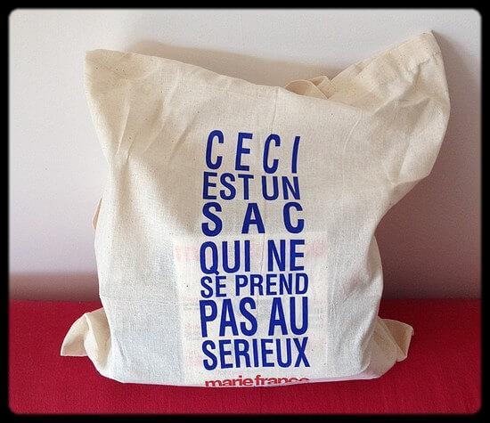 Marie France bag : un contenu au top !