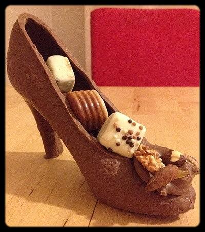 Dragées et Chocolats vous offre des escarpins gourmands !